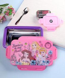 Disney Princess Insulated Lunch Box Purple Pink