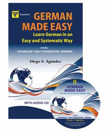 Goodwill Publishing House German Made Easy Book with CD - English German