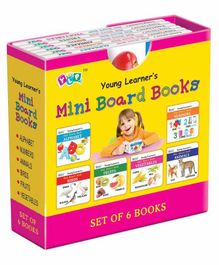 Young Learner's Publication Mini Board Books Set of 6 - English