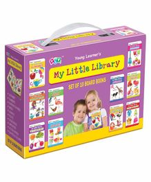 Young Learner's Publication My Little Library Set of 10 - English