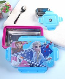 Disney Frozen Insulated Lunch Box Pink & Blue