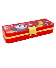 Disney Mickey Mouse and Friend Pencil Box Red Yellow