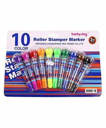 Shanaya 2 in 1 Roller Stamper (Color & Print May Vary) - 10 Pieces