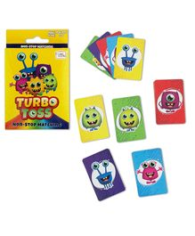 Trunk Works Turbo Toss Card Matching Game - Multicolor
