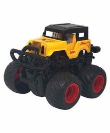 Sterling Friction Jeep Toy with 360 Degree Rotation - Yellow
