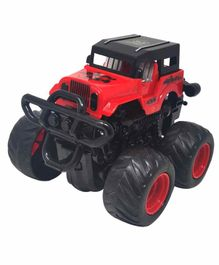 Sterling Friction Jeep Toy with 360 Degree Rotation - Red