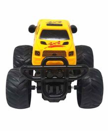 Sterling Friction Car Toy with 360 Degree Rotation - Yellow