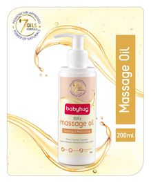 Babyhug Daily Massage Oil - 200 ml