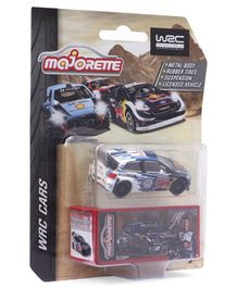 Majorette Free Wheel WRC Toy Car- ( Color May Vary)