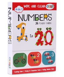 Kyds Play Flash Cards of Numbers - 36 Flash Cards