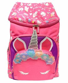 Scoobies Unicorn Design Bag Pink - 17 Inches