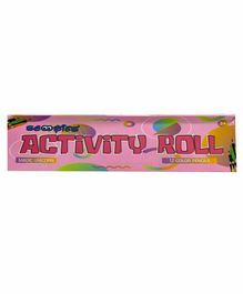 Scoobies Activity Roll with Color Pencils - English
