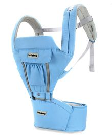 Babyhug Cherish 5-in-1 Hip Seat cum Baby Carrier - Blue
