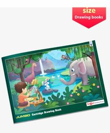 Target Publications Jumbo Size Drawing Book - 36 Pages