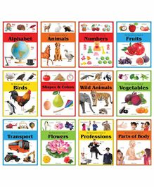 Wonder House Books Early Learning Pictures Set of 12 - English