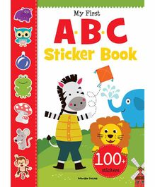 Wonder House Books My First ABC Sticker Book - English
