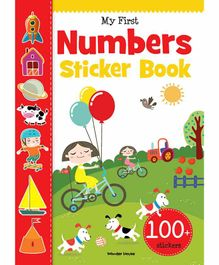 Wonder House Books My First Numbers Sticker Book - English
