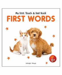 Wonder House Books First Words Board Book - English