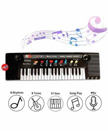Planet of Toys Mini Piano Keyboard - Black & White