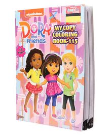 Imagician Playthings Jumbo Dora & Friends Copy Colouring Book - English (Design May Vary)