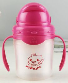 Baby Shower Fisher Price 2 Handle Cup w// Flip Top Lid Animals of the Rainforest