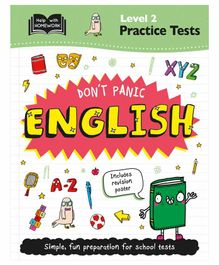 Igloo Books Don't Panic English Test - English