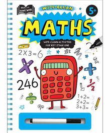 Igloo Books My Big Wipe Clean Math - English