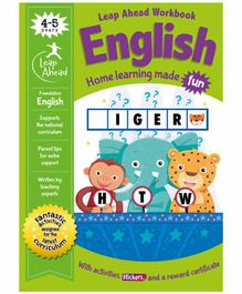 Igloo Books Leap Ahead Work Book - English