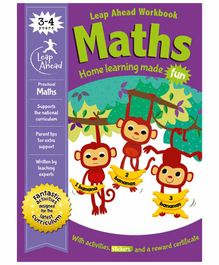 Igloo Books Leap Ahead Pre-school Maths Workbook - English