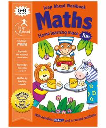 Igloo Books Leap Ahead Stage 1 Maths Workbook - English