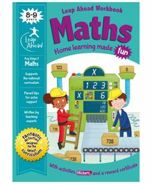 Igloo Books Leap Ahead Stage 2 Maths Workbook - English