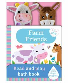 Igloo Books Farm Friends Read & Play Bath Book English - Multicolor