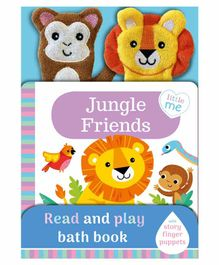 Igloo Books Jungle Friends Read & Play Bath Book English - Multicolor
