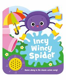 Igloo Books Incy Wincy Spider Actions Songs - English