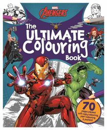 Marvel Avengers The Ultimate Colouring Activity Book- English