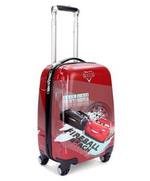 Disney Pixar Cars Luggage Bag with Handle - Red