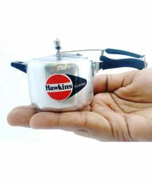 Hawkins Stainless Steel Miniature Toy Cookers Pack of 10 - Silver