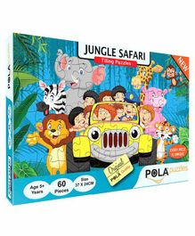 Pola Puzzles Jungle Safari Puzzles Multicolor - 60 Pieces