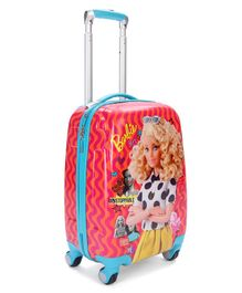 Barbie Luggage Bag with Handle - Pink