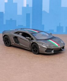 Kinsmart Die Cast Pull Back Lamborghini Toy Car - Grey