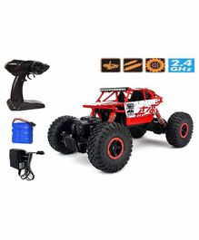 Fiddlerz 4 WD Shaft Drive High Speed RC Monster Truck - Red