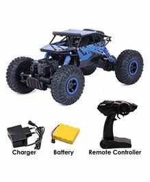 Fiddlerz 4 WD Shaft Drive High Speed RC Monster Truck - Blue
