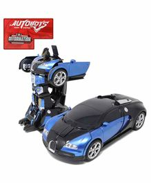 Fiddlerz RC One Button Transformer Car - (Color May Vary)