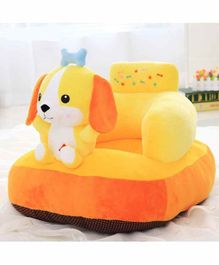 Skylofts Puppy Face Sofa for Kids - Yellow