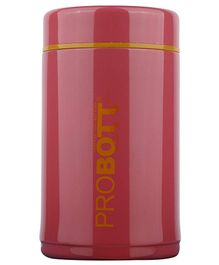 Probott Thermosteel Vacuum Jar Pink - 260 ml