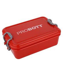 Probott Stainless Steel Lunch Box Red - 510 ml