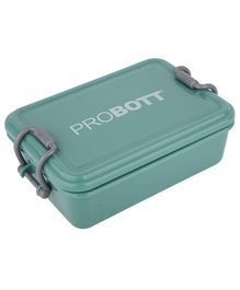 Probott Stainless Steel Lunch Box Dark Green - 510 ml