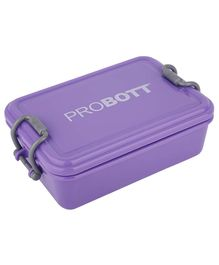 Probott Stainless Steel Lunch Box  Purple - 510 ml