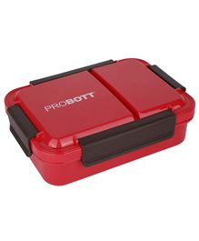 Probott Stainless Steel Meal Lunch Box Red - 750 ml