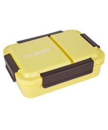 Probott Stainless Steel Meal Lunch Box  Yellow - 750 ml